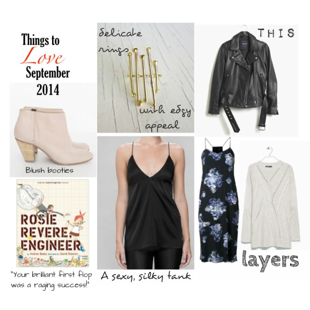 Things to Love Sept 2014