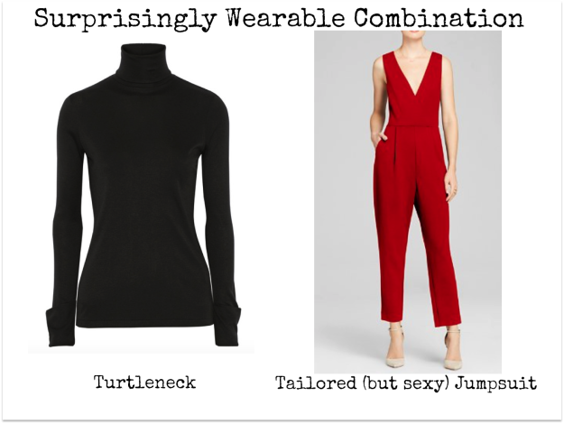 jumpsuit and polo neck edited